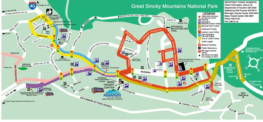 Pictures Gatlinburg Tennessee Dream Vacation – Gatlinburg Tourist Map